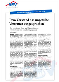 SBV in der Presse 2018